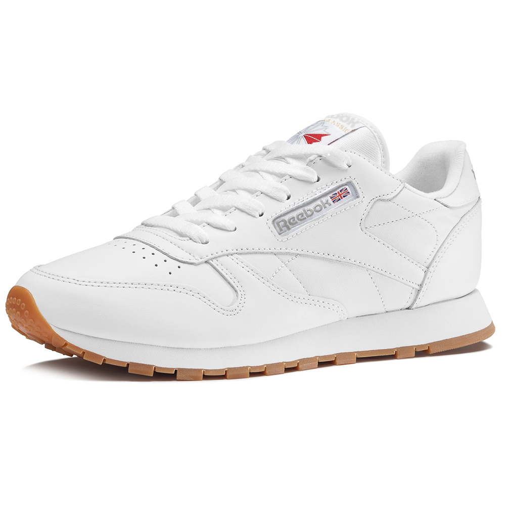 49803 Reebok Shoes 40 Classic Blanco Leather Tamaño PPXqr