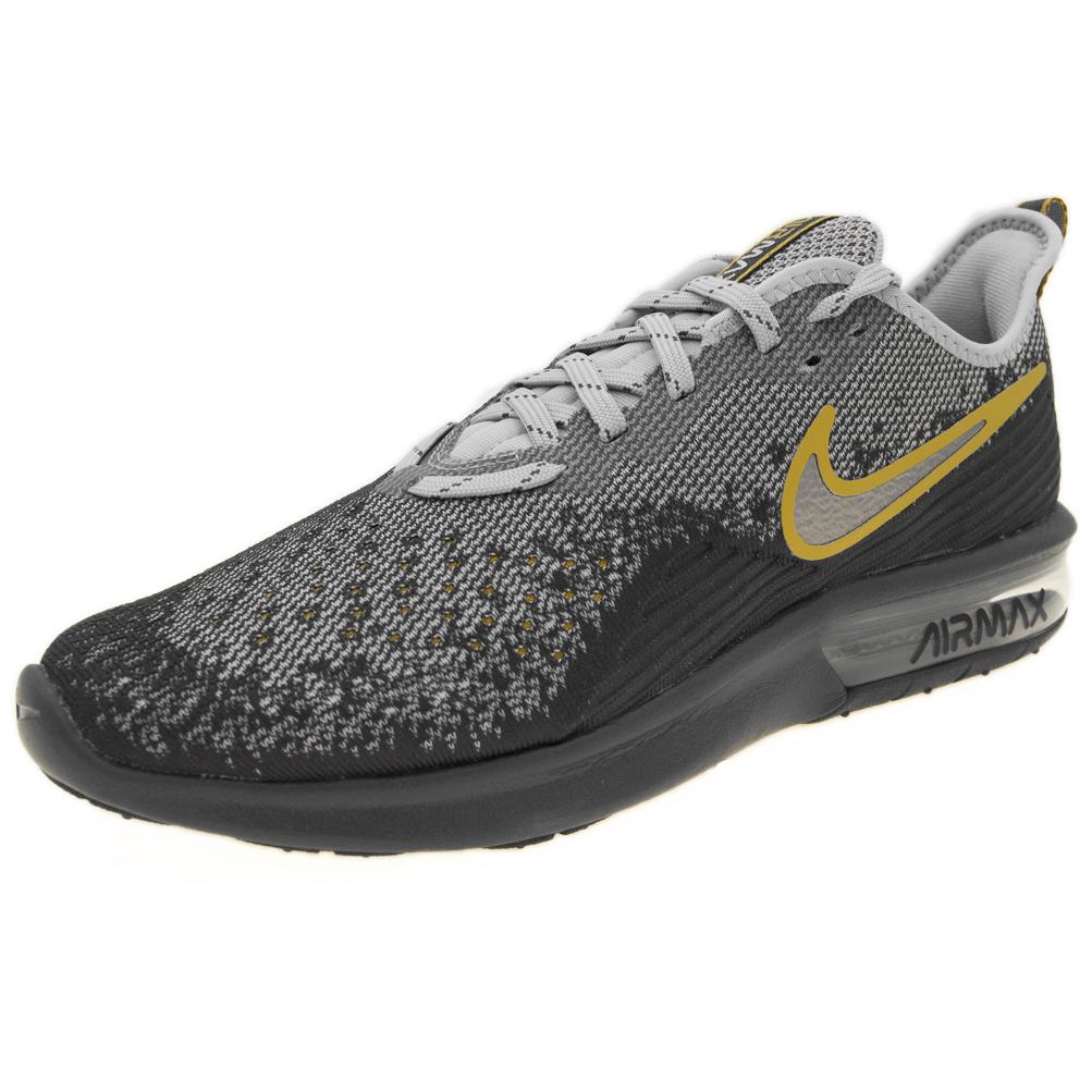 size 40 32f66 9e1d1 Nike Nike Air Max Max Max Sequent 4 Taglia 42 AO4485-003 Nero 4eded1