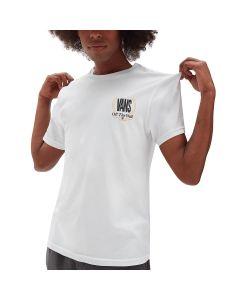 Vans T-Shirt da Uomo Frequency Bianca