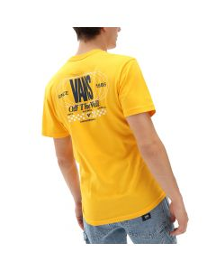 Vans T-Shirt da Uomo Frequency Gialla